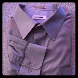 Pierre Cardin Lilac Dress Shirt with Long Sleeves